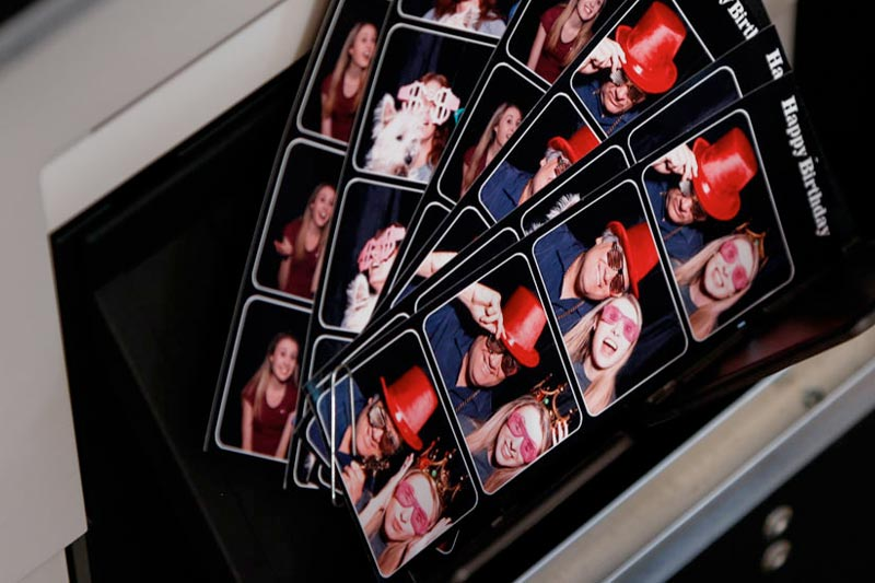 high quality photo strips for photo booth rental oin edmond, okla