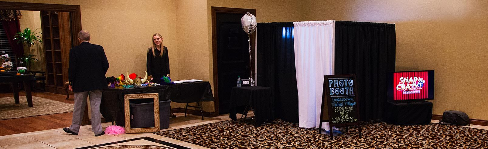Snap Me Crazy Photo Booth of Oklahoma and Edmond at Homebuilders Events Center in OKC