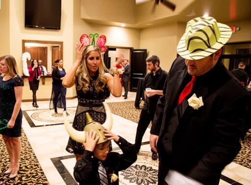Oklahoma City photo booth rental and props