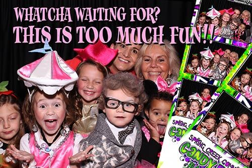 book your school or church event with snap me crazy photo booth
