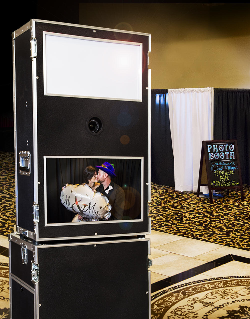 Oklahoma City snap me crazy photo booth rental
