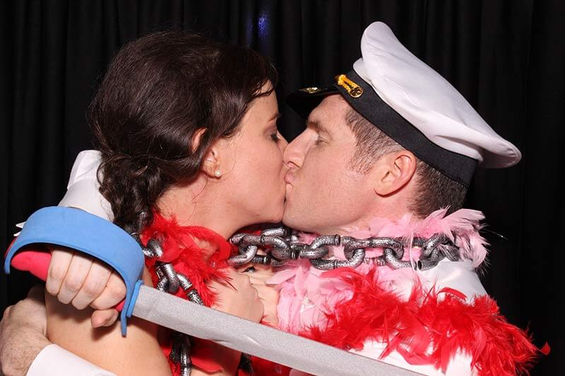 Nichole and Ryan - chisolm springs event center edmond oklahoma photo booth pics