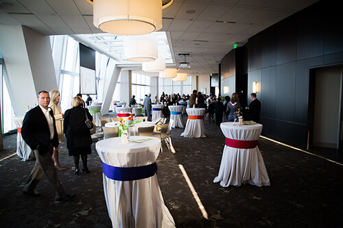 OKC MARS Charity event in Devon Tower in Oklahoma city metro downtown