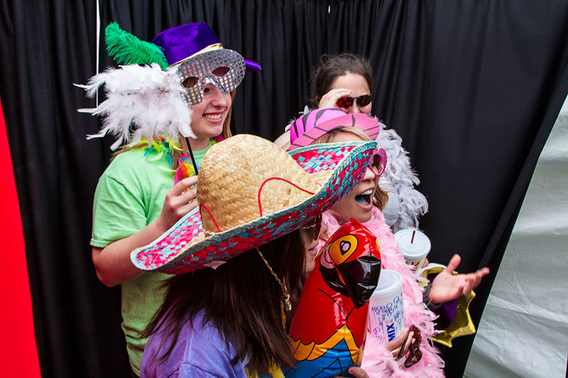 NWOSU Photo Booth rental for Party in Alva Oklahoma.