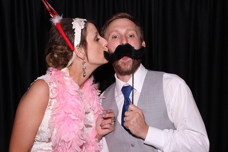the manor at coffee creek photo booth, photo booth rental