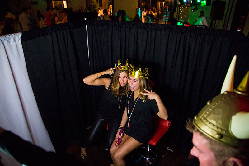coles garden photo booth rental graduation party
