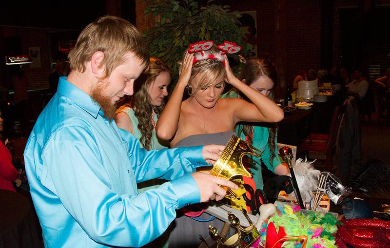 Wedding Reception at Bricktown, OKC