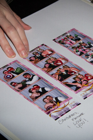 wedding scrapbook at oklahoma city photo booth event venue