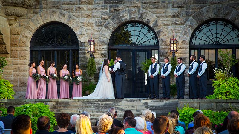 wedding photo booth at ponca city, oklahoma