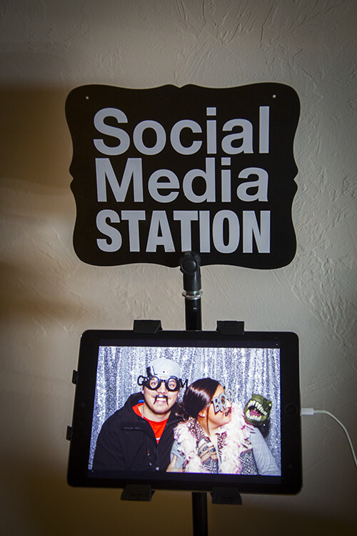 snap me crazy photo booth at coffee creek manor in edmond, oklahoma.