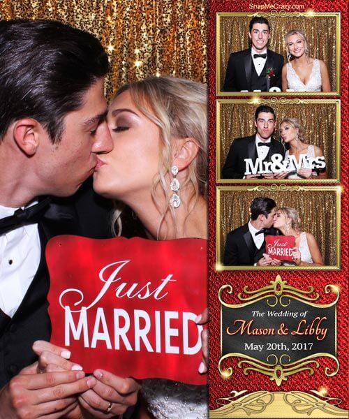 Wedding photo booth for wedding receptions happening in oklahoma city, norman, yukon, el reno, ada, stillwater, lawton, chickasha, mustang, kingfisher, yukon at venues across oklahonma.