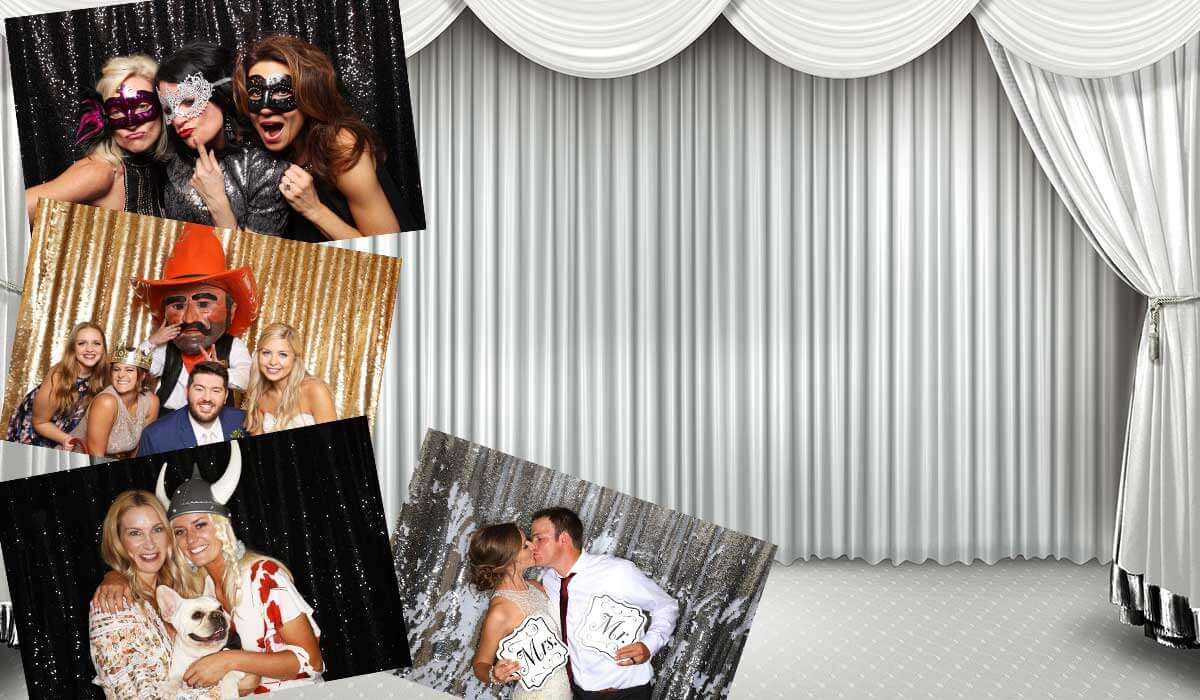 Interactive Photo Booth Software, Amazing Photos,Instant Social Sharing, External Slideshow,  Custom Artwork, Beautiful Backdrops Crazy Props, Online Photo Gallery  and More!